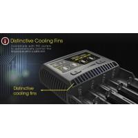 Скоростное четырехканальное зу Nitecore SC4