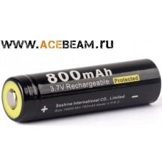 Аккумулятор Soshine 14500 на 800 mAh с защитой